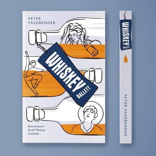 Book Cover Design for Crime Comedy