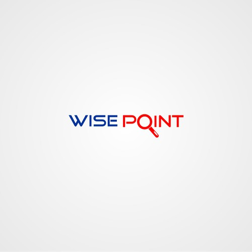 "Hi. We are WisePoint. We need a logo that communicates ""We're kind of a big deal."" :)"