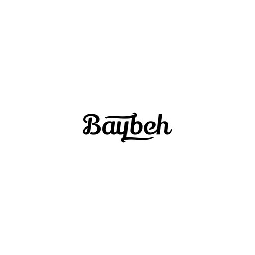Typography Logo Concept for Baybeh