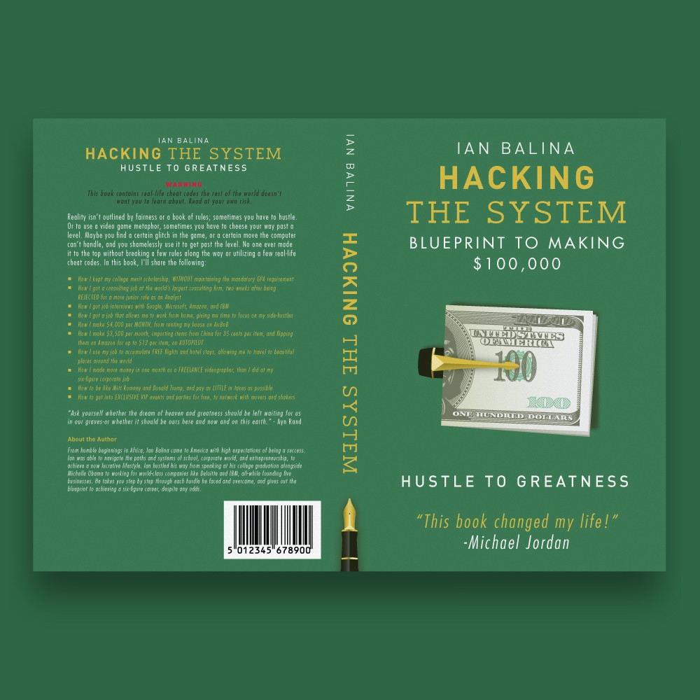 Create a Don Draper-like Book Cover