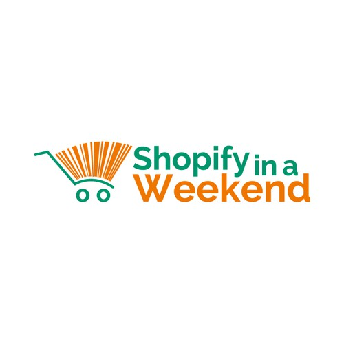 E-commerce logo for Shopify