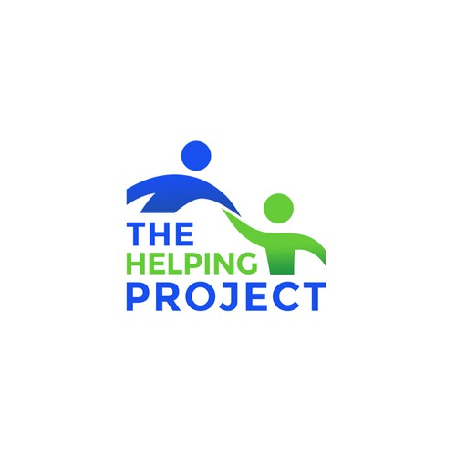 Simple, clean logo for The Helping Project