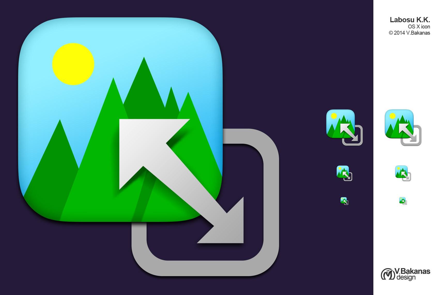 Icon for OS X image resizing utility