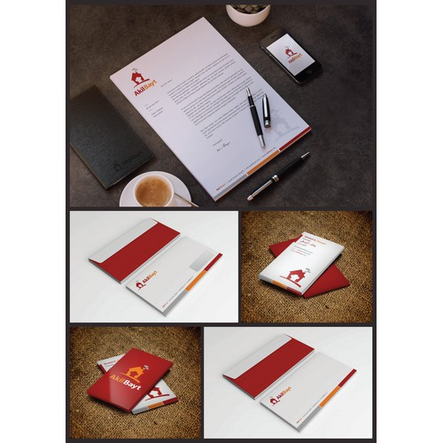 Akil Bayt Stationery design_1-1 Project