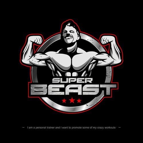 logo for super beast