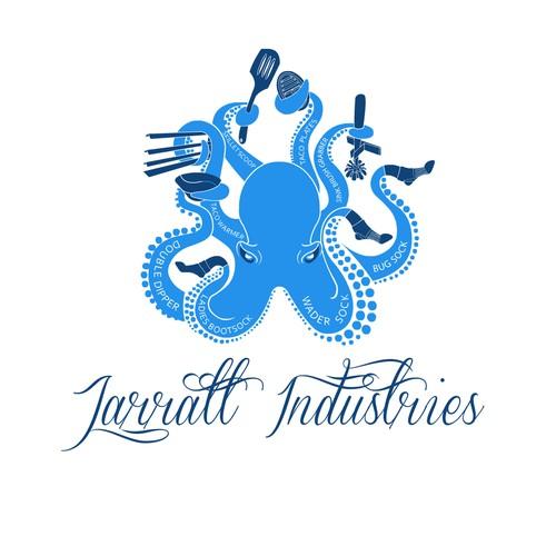 Jarratt Industries Octopus Logo