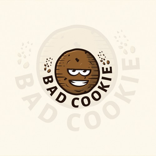Crunchy cookie logo.