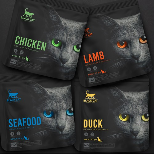 BLACKCAT FOOD BAG