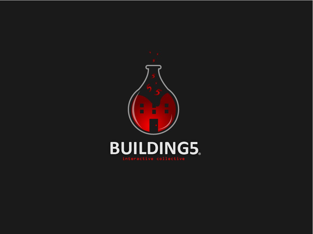 logo and brand ID needed for: building 5 _interactive collective