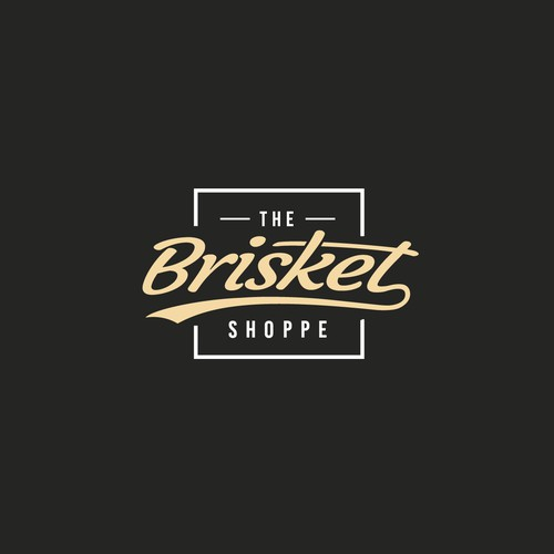 """Hipster style for """"The Brisket Shoppe"""""""