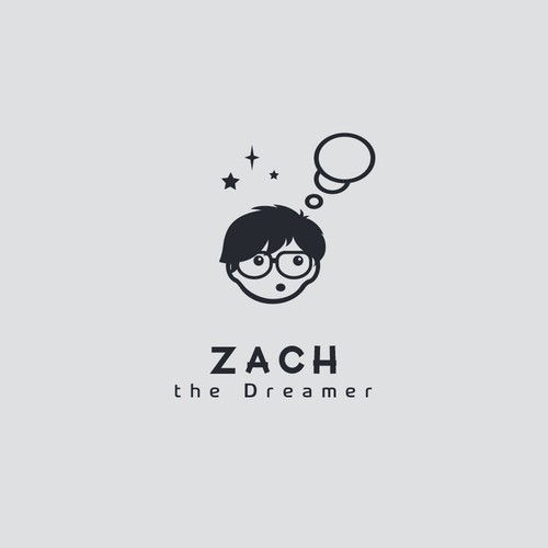 Character logo design for ZACH Dreams Technology