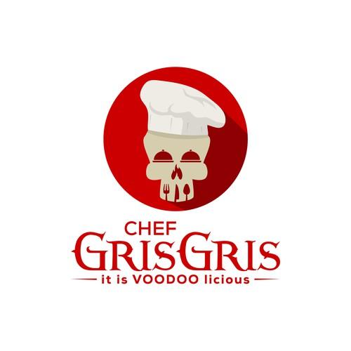 Bold logo for Chef Gris Gris