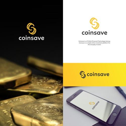 Logo concept for coinsave.io
