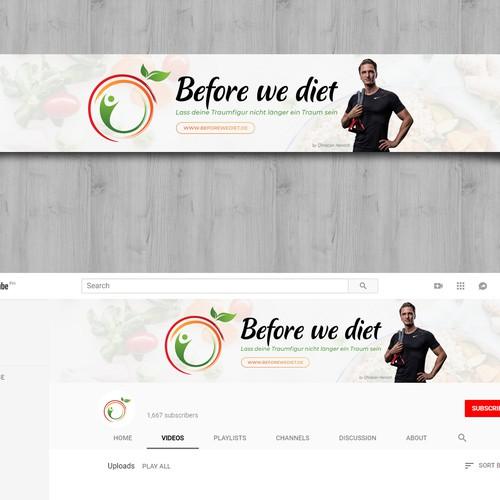 Youtube header design
