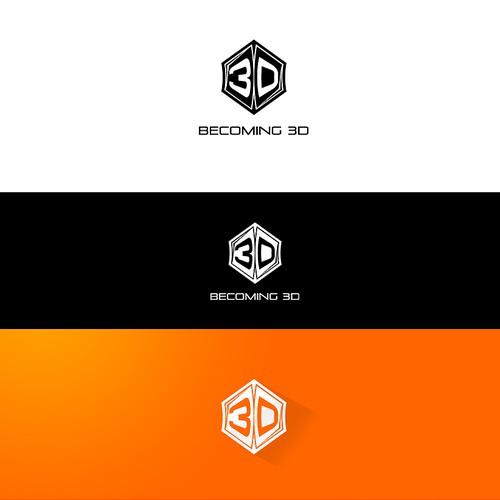 Becoming 3D needs a new logo