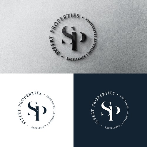 Luxurious & sophisticated logo design for a real estate brokerage