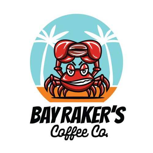 Bold coffee roaster logo
