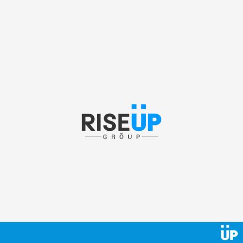 Create a startup logo... RiseUp Group