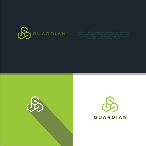 creative logo for Guardian.