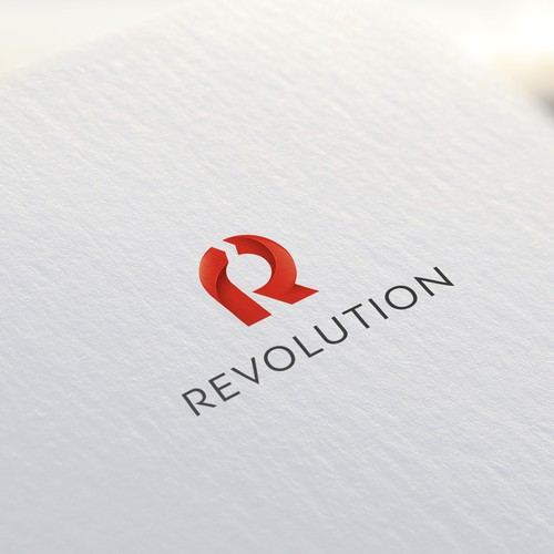 R-logo concept ( revolution )