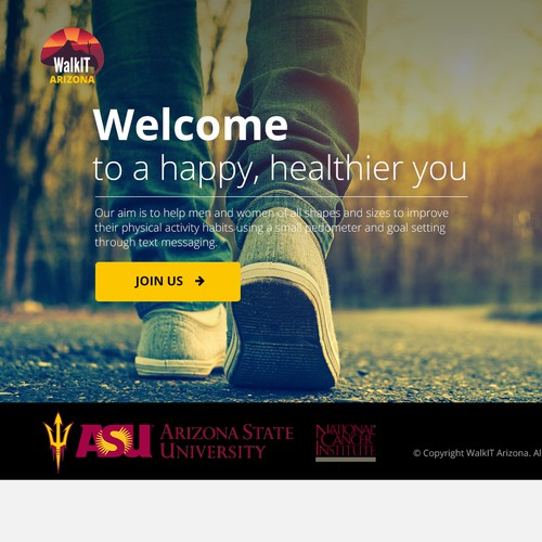 Stunning website design for health