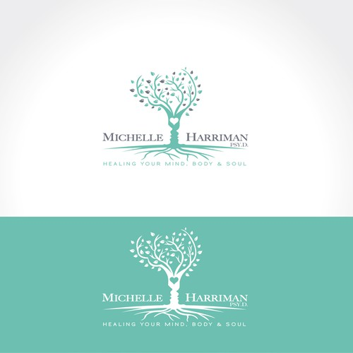 Logo design for a psychotherapy practice