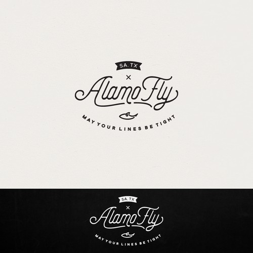 Logo design for Alamo Fly
