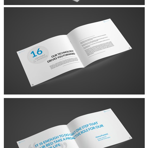 Brochure design for BIocrystal