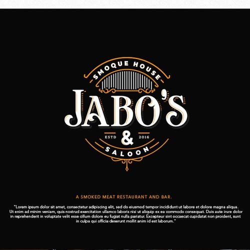 Logo for Jabo's Smoque House & Saloon