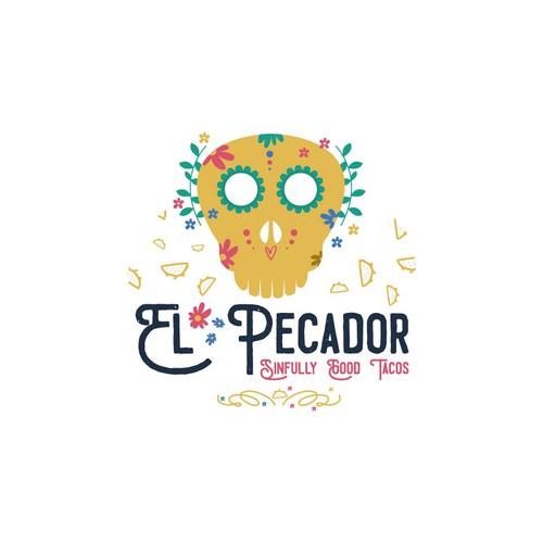 El Pecador Logo for Contest.