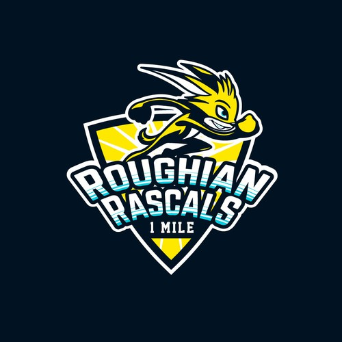 Logo design for Roughian Rascals kids obstacles race