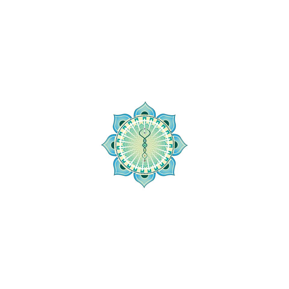 Design a logo dedicated to wellness and higher consciousness