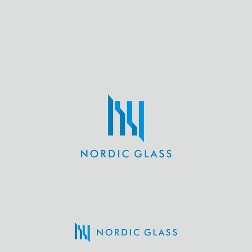 Logo draft for NORDIC GLASS.