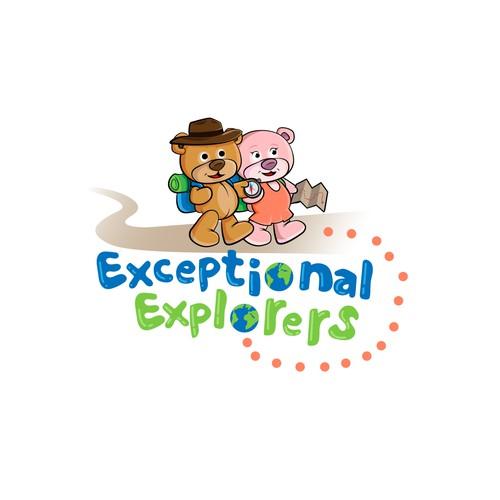 Logo for a children's learning platform.