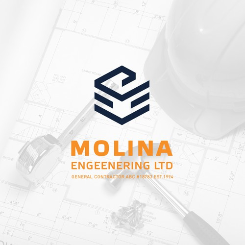 Logo concept for a engineering company