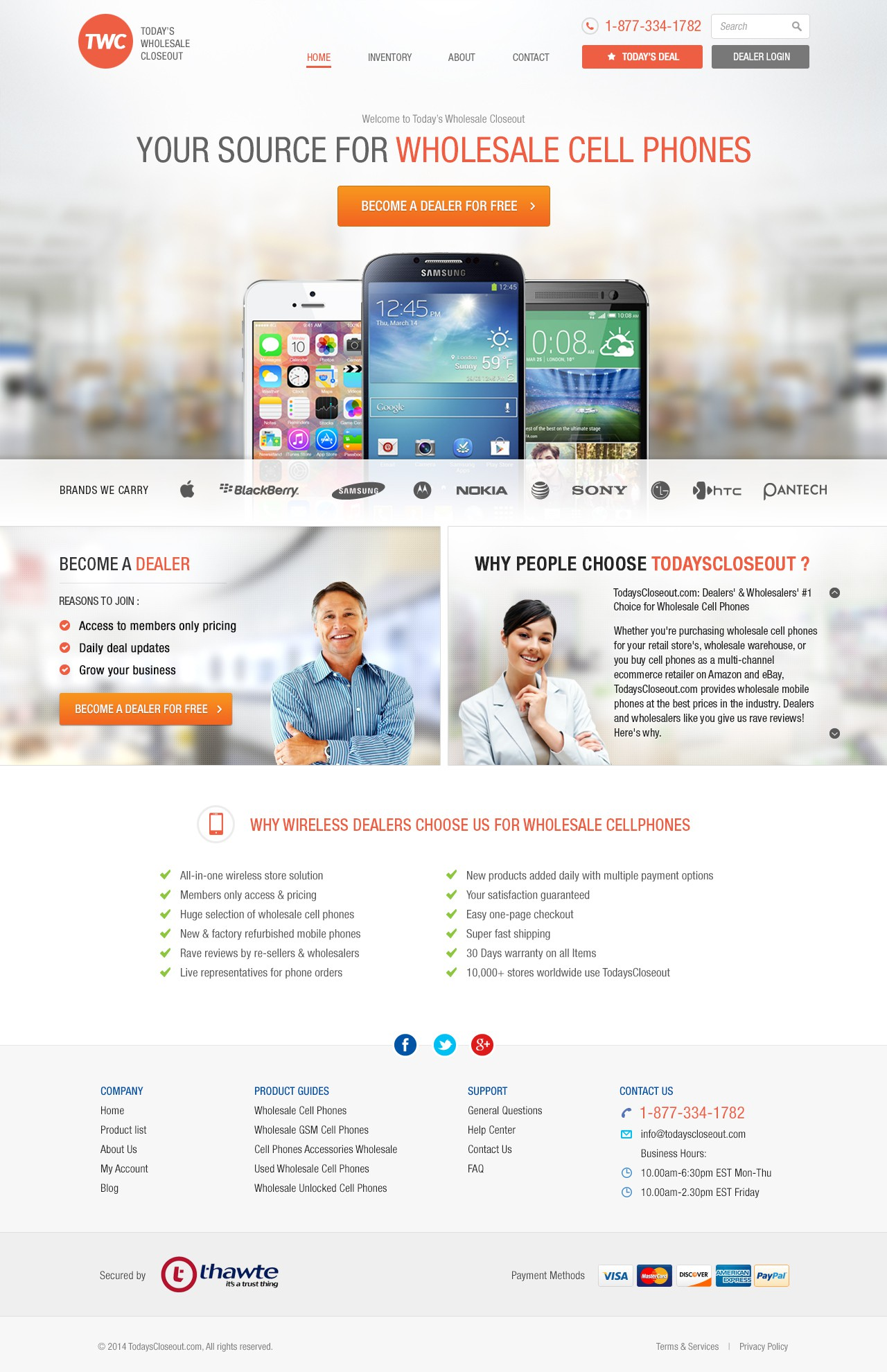 Re-imagine our existing B2B e-commerce site with a fresh modern attractive design that converts