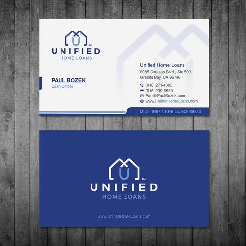 Mortgage company needs a powerful new Business Card!