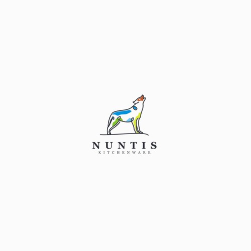 Creative logo for NUNTIS kintchenware