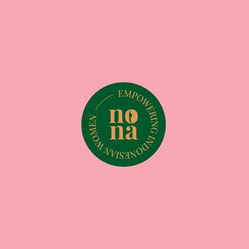 Feminine Logo Concept for Nona
