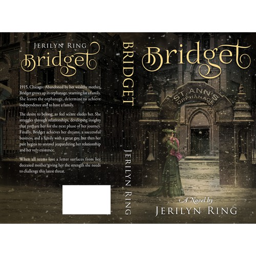 Paperback cover for the novel Bridget