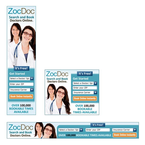 New banner ad wanted for ZocDoc