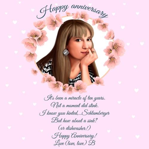 card happy anniversary