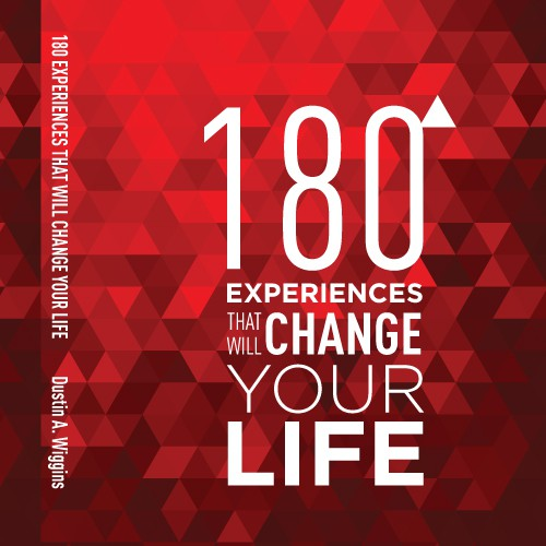 180 Experiences that will Change your Life. Shout out for the winning designer included!