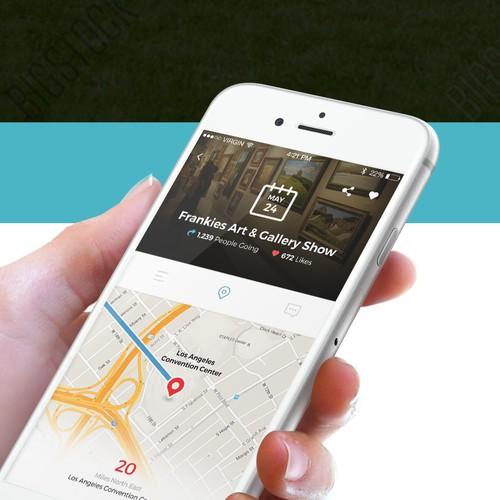 iOS App design for HowItGo