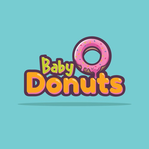Logo for a donut company
