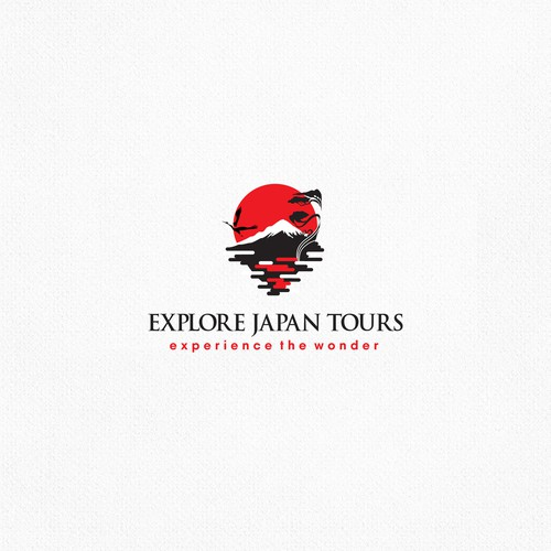 logo design for a travel agent in Japan specializing in private tours
