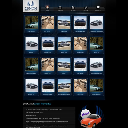 A Premium, High Quality Design For Our Car Theme Website