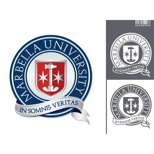University logo design