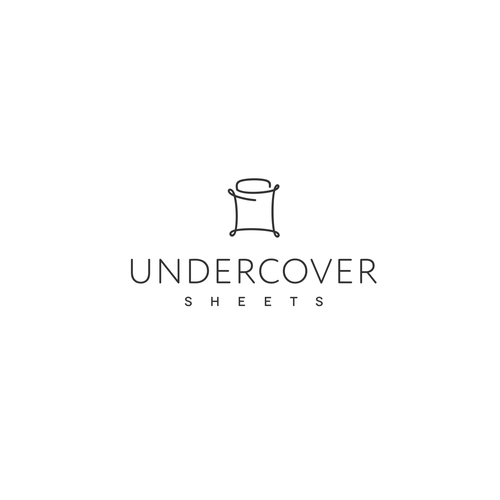 Innovative logo for a bed sheets startup