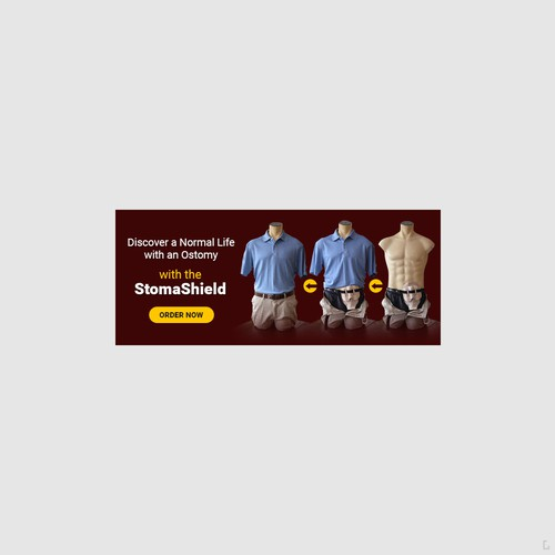 Banner Ad for StomaShield